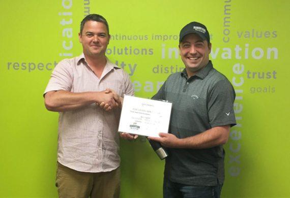 June 2018 GEM Award Recipient – Aaron B.